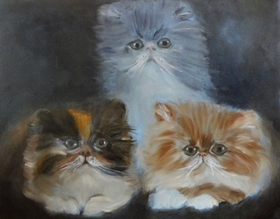 Trio of Kitties