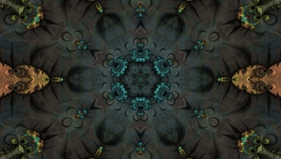 Abstract Fractal Art HD Desktop Wallpaper