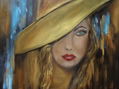 Girl With The Golden Hat